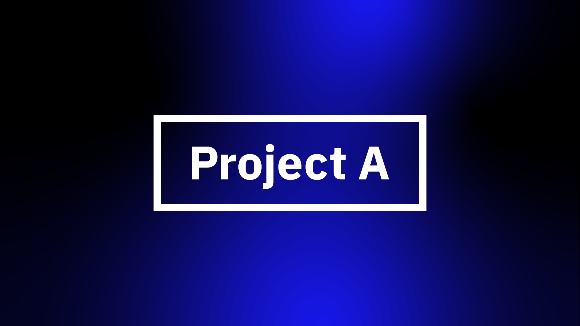 Project A. The operational VC. | Project A