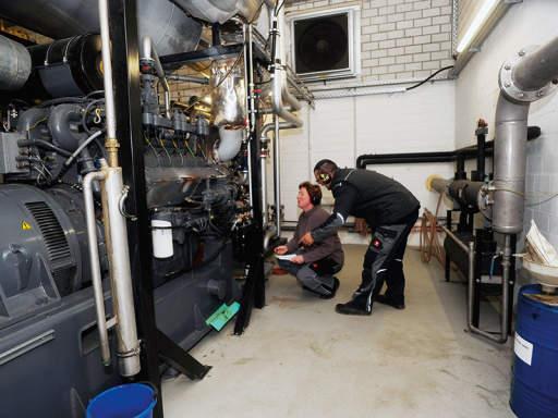 Biogasanlage Innen