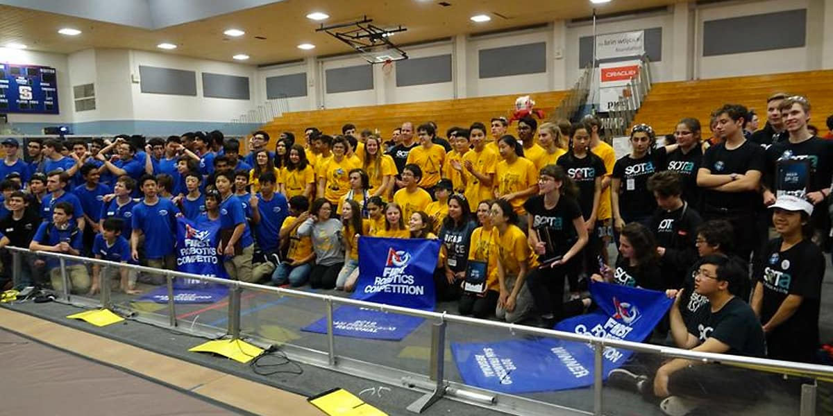 Auris-sponsored teams at the FIRST Robotics Competition
