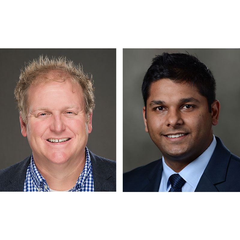 Dr. Kyle Hogarth and Dr. Abhinav Agrawal