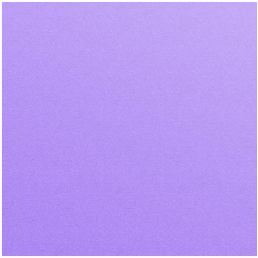 A floating violet circle