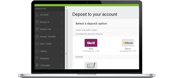 Skrill to Neteller transfer