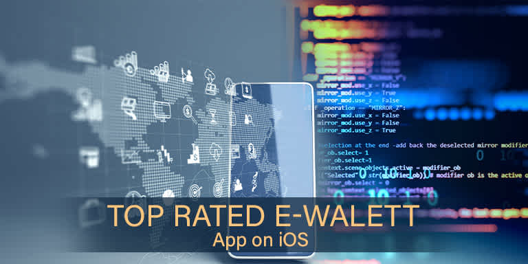 Top rated eWallet App on iOS