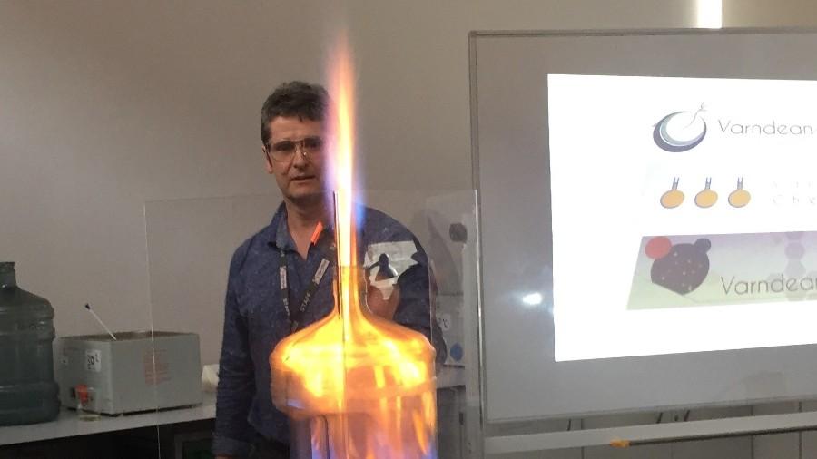 Varndean College Chemistry tutor, John Luton