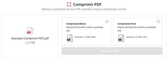 Como reduzir tamanho de PDF