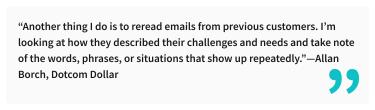 2020-07-03 - Come creare il perfetto sommario di LinkedIn, con esempi - Citazione di Allan Borch