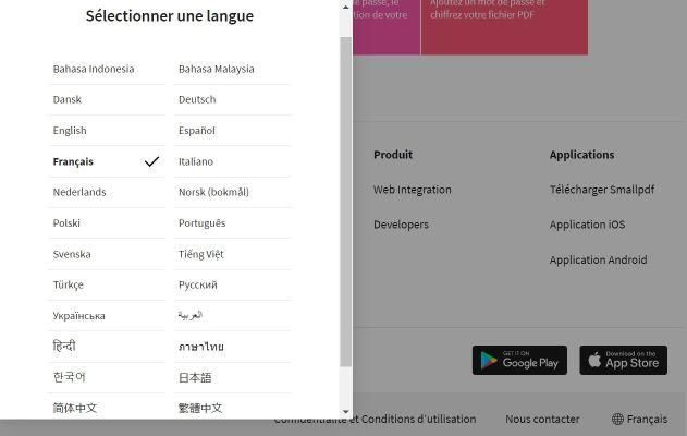 2019-08-13 - Comment Signer Un PDF Electroniquement En Ligne - comment changer la langue du site