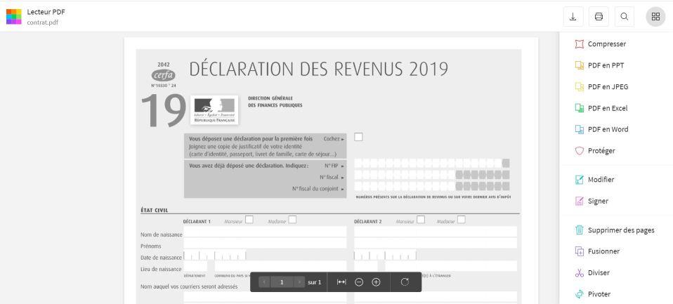 2020-10-22 - Comment Lire Un PDF En Ligne - Lecteur PDF sur Smallpdf