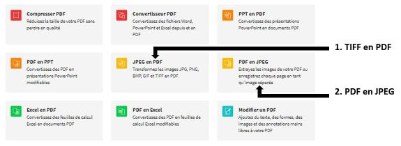 2018-12-11 - TIFF en JPEG – Convertis des images TIFF au format JPEG - outils TIFF en PDF et PDF en JPEG