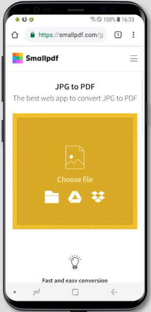 jpg to pdf for android