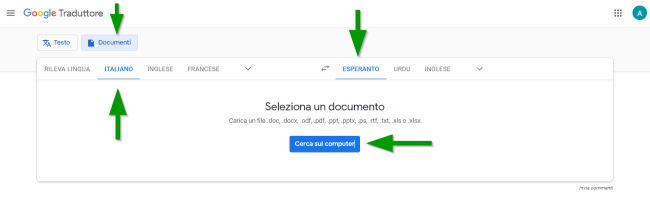 2018-10-09 - Come tradurre file PDF in qualsiasi lingua - Google Traduttore