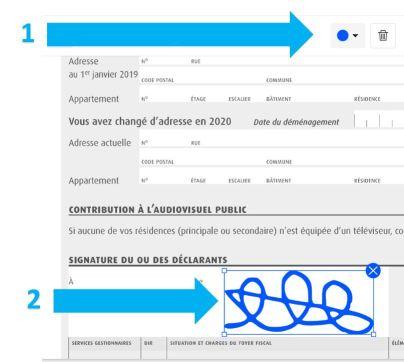 2019-08-13 - Comment Signer Un PDF Electroniquement En Ligne - outil Signer un PDF sur Smallpdf, changer la couleur de la signature