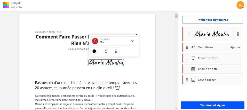 2020-10-01 - Smallpdf lance une version améliorée de l'outil de signature PDF - Insère ta signature sur ton document.