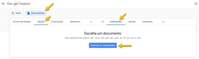 Como traduzir PDF