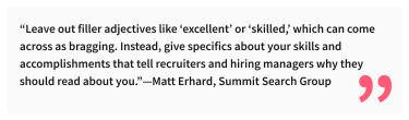 2020-07-03 - Come creare il perfetto sommario di LinkedIn, con esempi - Citazione di Matt Erhard