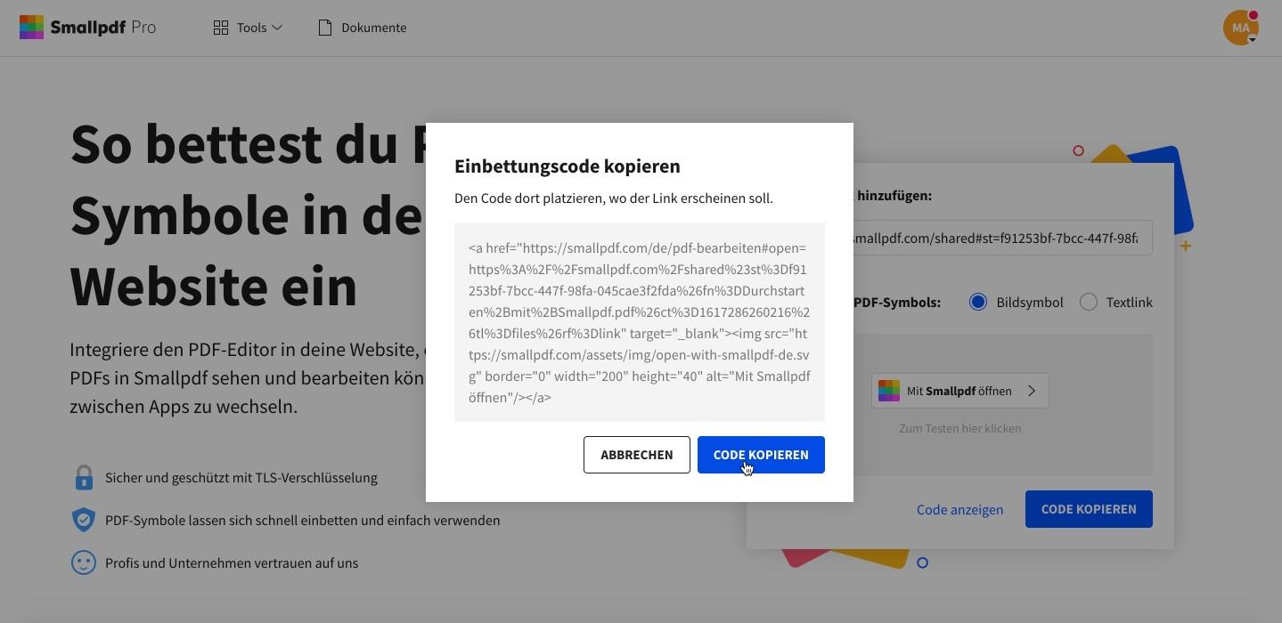 einbetten-pdf-wix