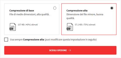 2020-02-17 - Comprimi PDF online e ottieni le dimensioni che desideri - due opzioni