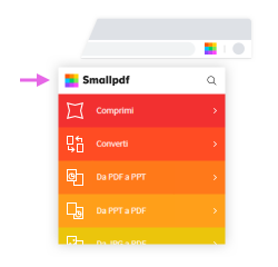 2019-06-24 - Come usare l'estensione Chrome di Smallpdf in maniera efficace – accesso rapido