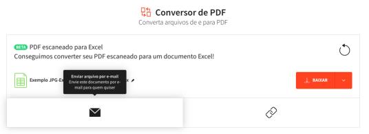 Enviar arquivo por e-mail