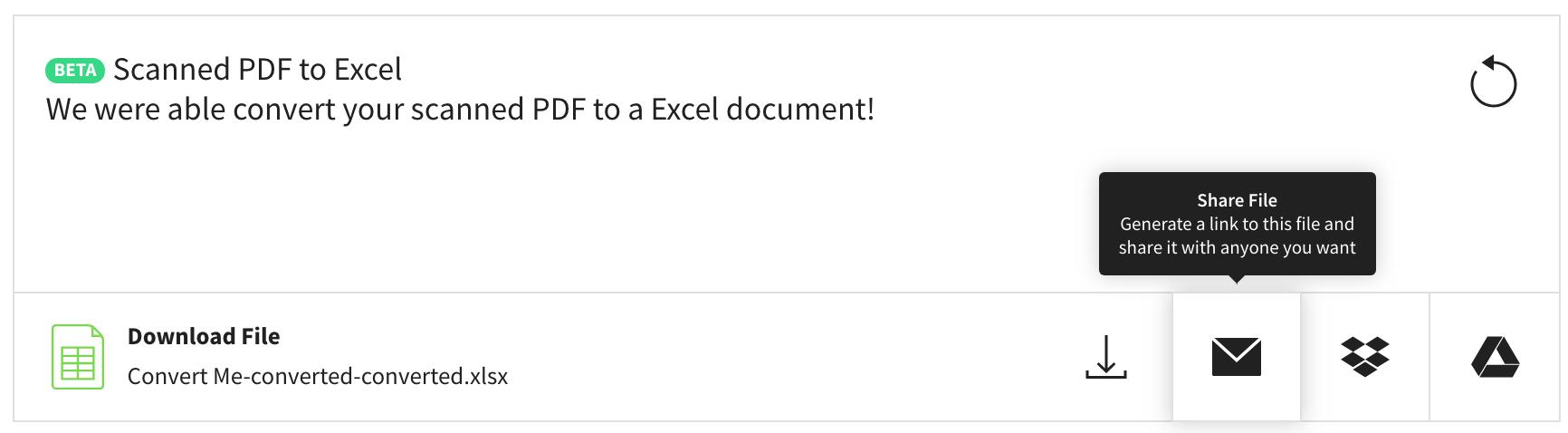 Convert JPG to Excel
