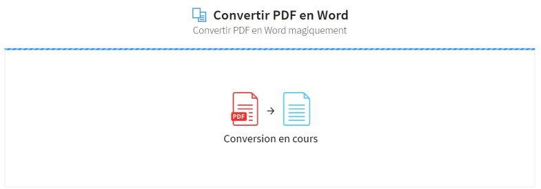 2019-02-18 - Convertir Un PDF Scanné En Word En Ligne - outil PDF en Word sur Smallpdf