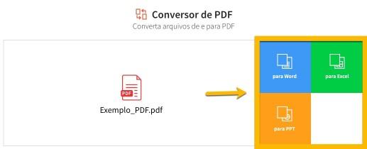 Conversor de PDF