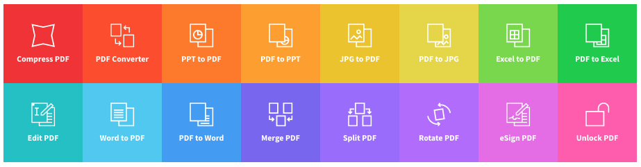 smallpdf homepage
