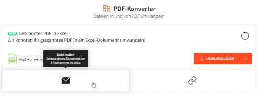 2019-01-17 - JPG in Excel umwandeln - Datei mit einem Link teilen