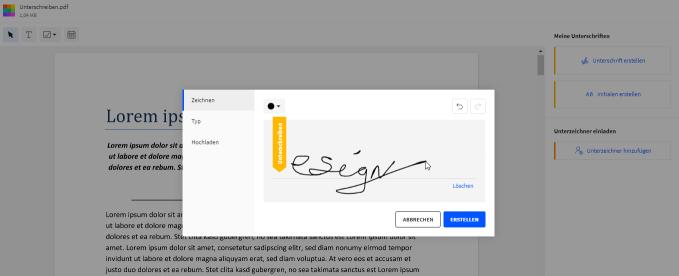 2020-09-01 - Smallpdf veröffentlicht verbessertes eSign Tool – Schritt 4
