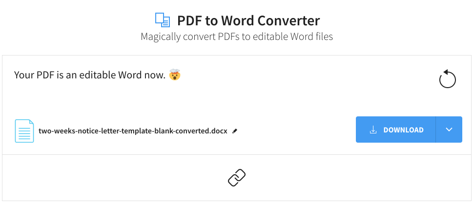 convert-two-weeks-notice-template-to-word-smallpdf