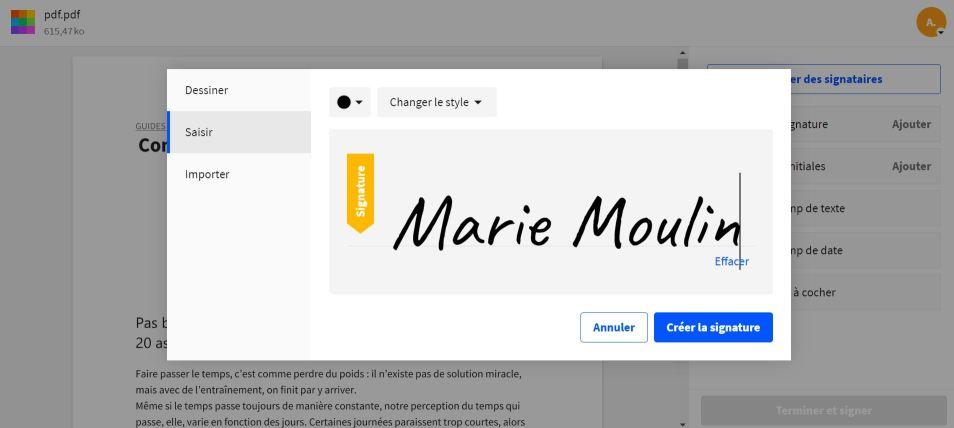 2020-10-01 - Smallpdf lance une version améliorée de l'outil de signature PDF - Tu peux également taper ta signature ou prendre une photo de ta signature.