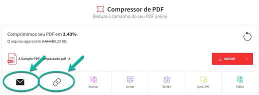 Compartilhar PDF redimensionado