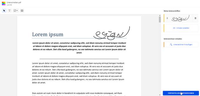 2020-09-01 - Smallpdf veröffentlicht verbessertes eSign Tool – Schritt 7