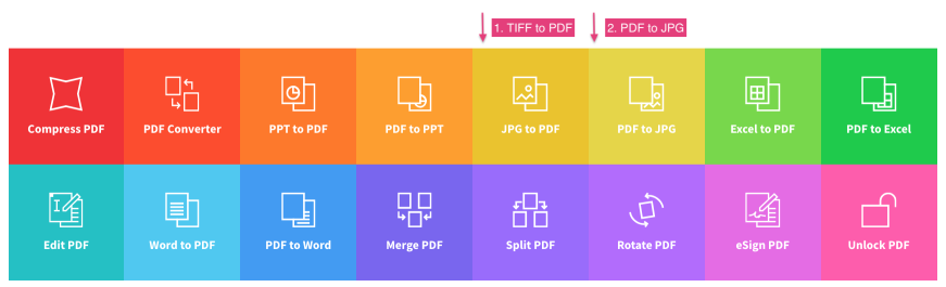 TIFF to JPG - Convert TIFF to JPEG Images | Smallpdf