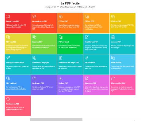 13.11.2019- Tous les outils de Smallpdf