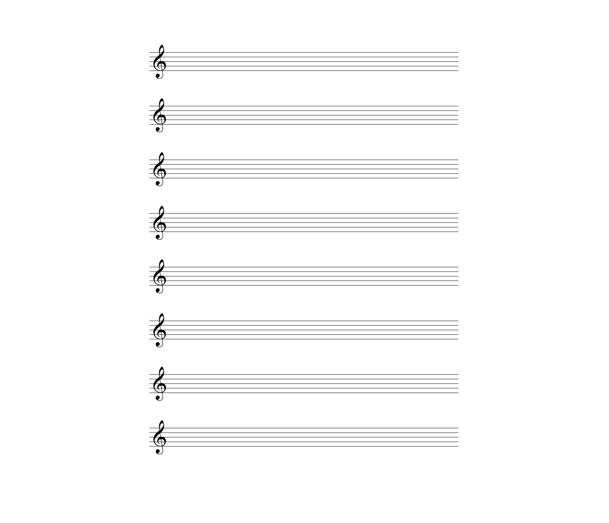 8-staves-with-the-treble-clef-blank-sheet-music