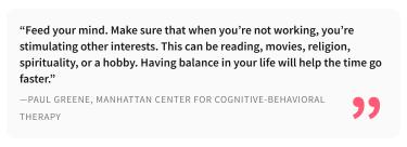 20.07.2020- Comment Faire Passer Le Temps Les Jours Où Rien N'avance - Paul Greene, Manhattan Center for Cognitive-Behavioural Therapy