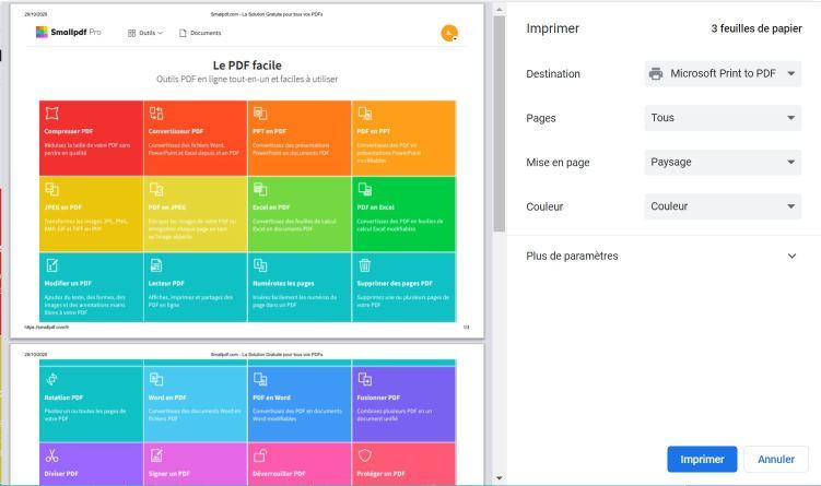 2020-07-15 - Comment Enregistrer Une Page Internet En Format PDF - Chrome