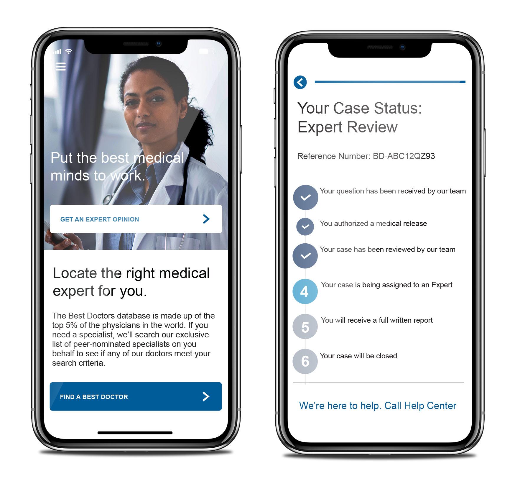 Media Resource App Screenshots Teladoc Health