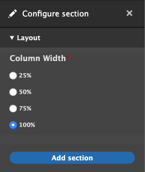 layout-builder-one-column