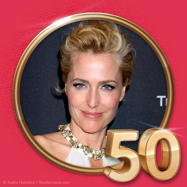 AUGUST 9 - Gillian Anderson