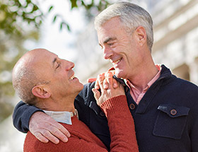 Find love with Senior Gay Dating!