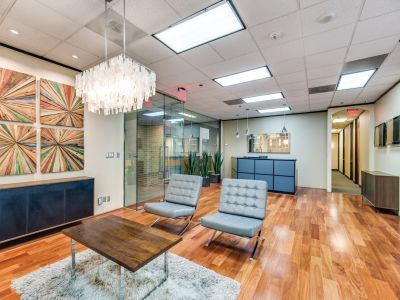 Interior of WorkSuites coworking at 5100 Westheimer Road, Suite 200 in Houston, Texas