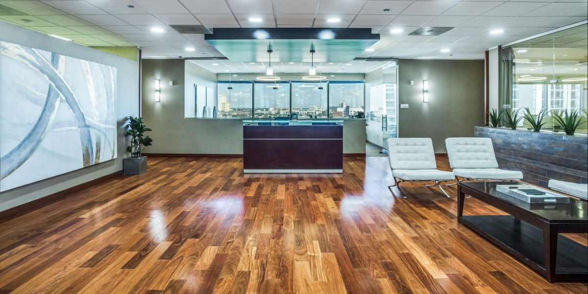 Commercial office building with executive suite rentals at 3131 McKinney Ave, Suite 600 in Dallas, Texas