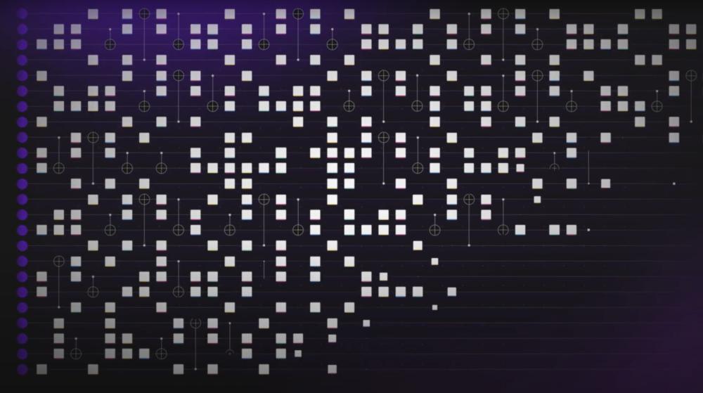 Entangled qubits