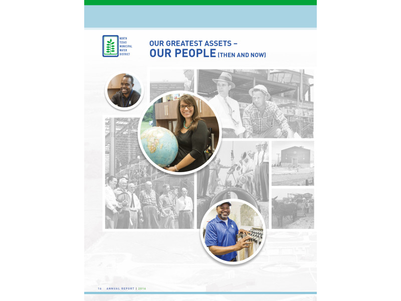 North Texas Municipal Water District – 2016 Annual Report – Our People