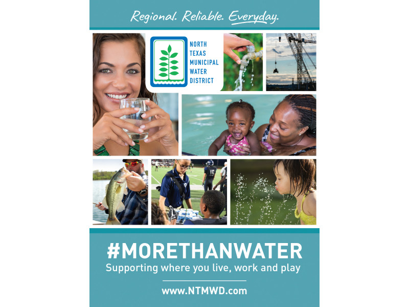 North Texas Municipal Water District – NTMWD Sponsorship Ad