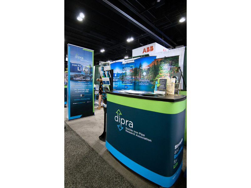 DIPRA – ACE19 Booth Setup 2