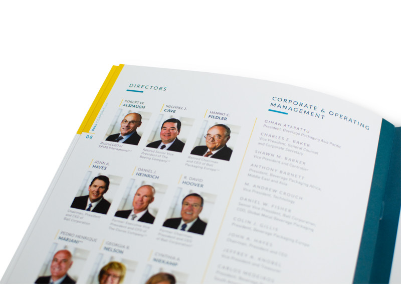 Ball Corporation – 2016 Annual Report – Board of Directors