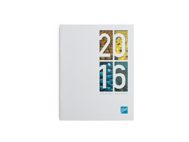 Ball Corporation – 2016 Annual Report – Cover